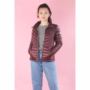 (514) Burgundy Moncler Down Puffer Jacket